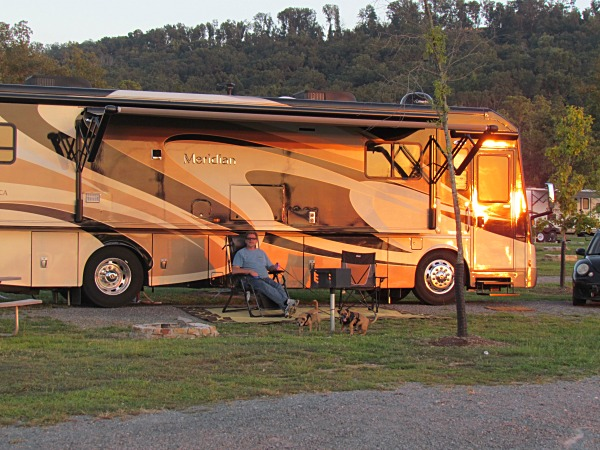 rv life camping traveling sitcom