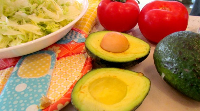 Mexican Chicken and Avocados on the Grill!