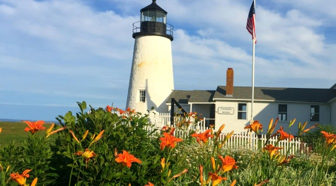 Pemaquid Point Lighthouse and life on the campground…