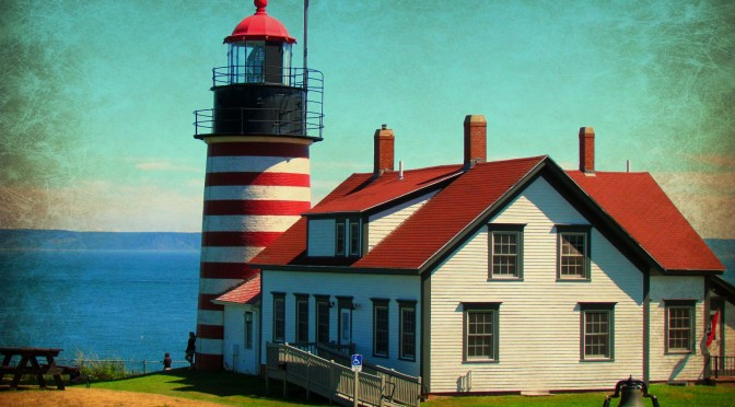 West Quoddy Lighthouse and life at the campground