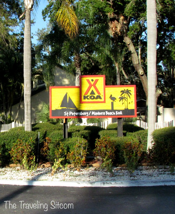 st petersburg florida koa
