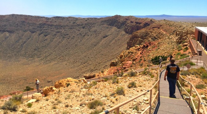 Arizona Destinations: Meteor Crater in Flagstaff