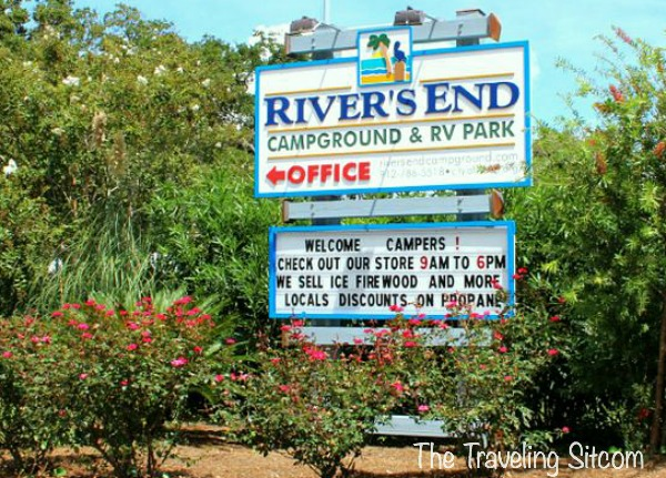 rivers end campground tybee island georgia