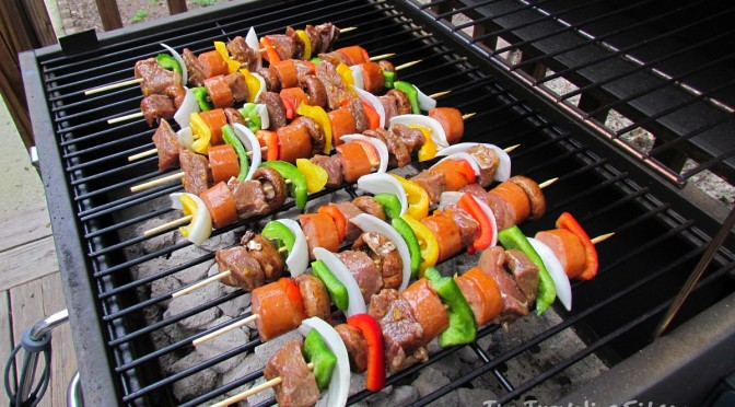 Teriyaki Orange Beef Shish Kebabs Recipe
