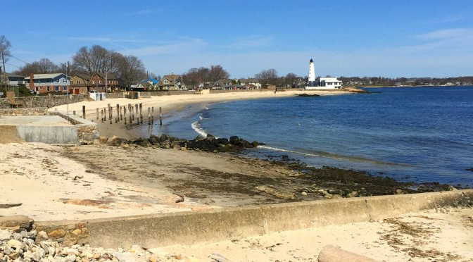The beautiful coast of Connecticut!