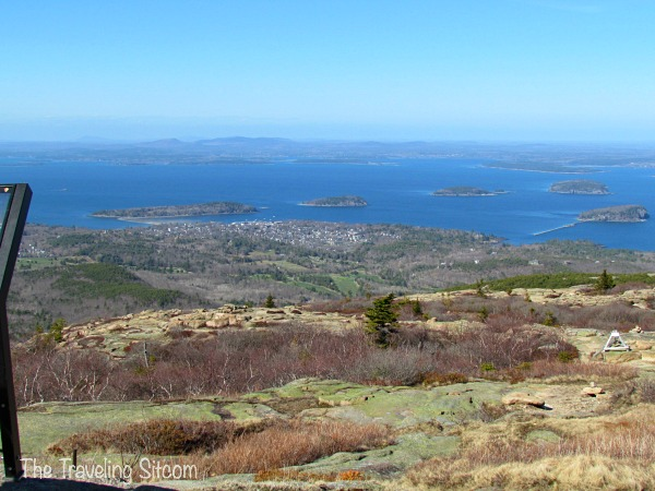 cadillac mountain bar harbor maine