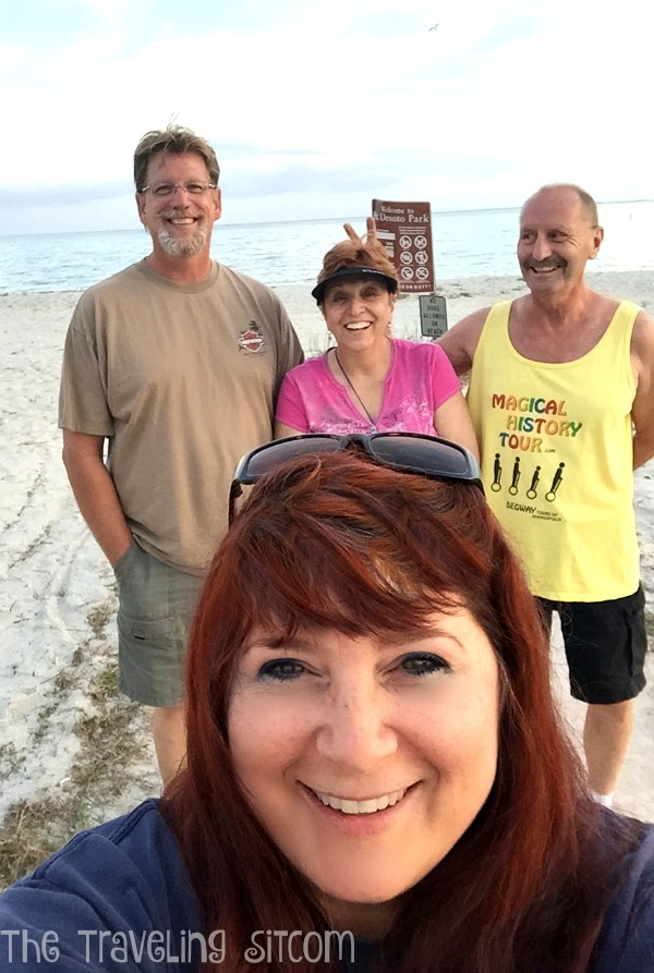 christmas in fort desoto florida