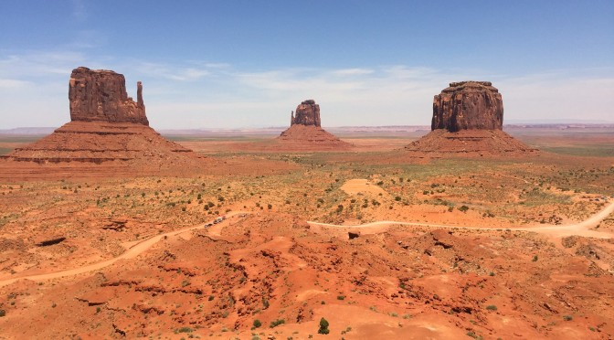 visit to monument valley