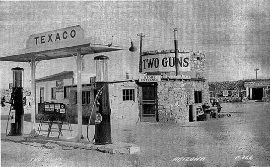 two guns ghost town arizona