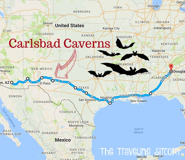Bat Central: Carlsbad Caverns - The Traveling Sitcom on